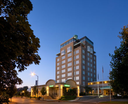 Park Place Hotel Exterior Dusk