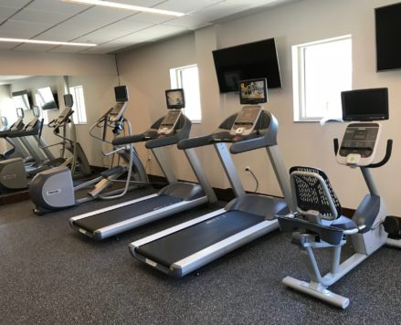 Park Place Hotel Fitness Room